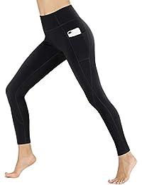 c35bda62ba554 Heathyoga Yoga Pants High Waist Leggings for Workout Running & Yoga, Super  Soft and Non