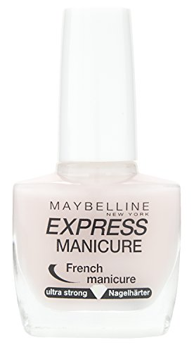 Make-Up Nailpolish ExpressManicure Nagellack French Manicure Rosé / Nagelhärter für gestärkte Nägel, 1 x 10 ml (French Manicure Nagellack)
