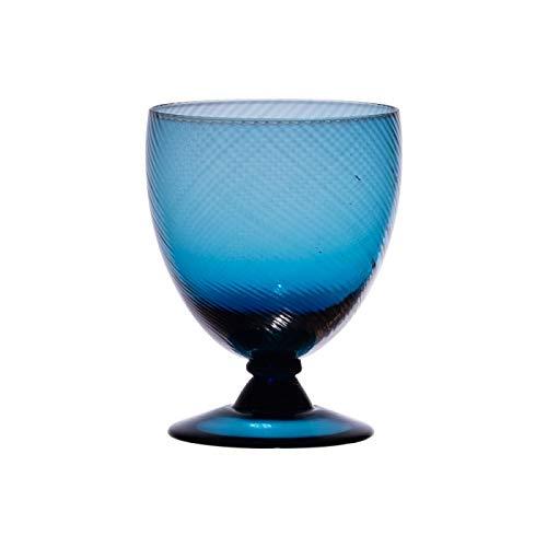 Table Passion - Verre à pied luberon bleu indigo 28.5 cl (lot de 6)
