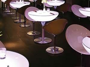 Table haute 75 indoor - Table haute lounge 75 lumineuse Indoor