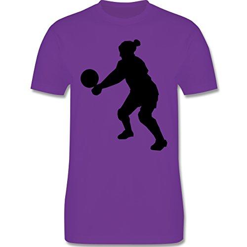 Volleyball - Volleyball - Herren Premium T-Shirt Lila