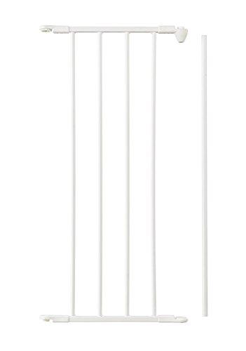 Baby Dan Flex Sektion/Verlängerung, Weiß, 33 cm: für Schutzgitter Flex M/L/XL/XXL sowie Laufställe Park-A-Kid und Square - hergestellt in Dänemark