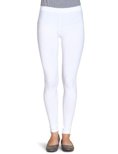 VERO MODA Damen Legging, 10059329, Gr. 42 (XL), Weiß (OPT.WHITE)