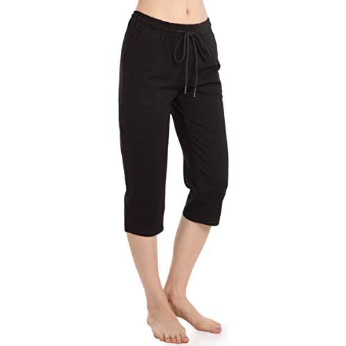 31P ITHtY8L. SS500  - Ferrieswheel Story Spandex Capri Pants for Women 3/4 Shorts with Pockets Elastic Waist Workout