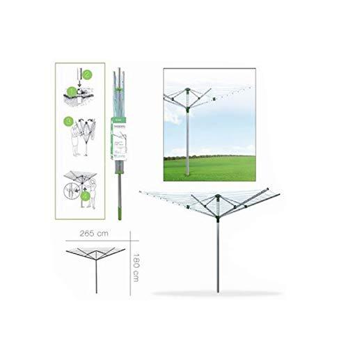 Cisne 2013, S.L. Tendedero Grande para Jardin de Aluminio Inoxidable para Secado...