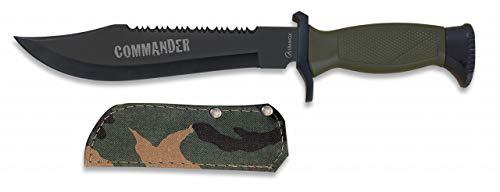 Albainox - 31777 - Cuchillo ALBAINOX Supervivencia.C/Funda.19.5cm - He