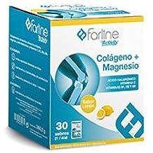 Farline activity colágeno + magnesio 30 sobres sabor limón