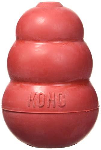Kong Hundespielzeug L, 10,5 cm rot