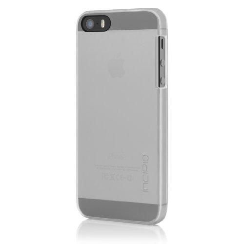 Incipio IPH-1117-CLR Feather Case inkl. Displayschutzfolie für Apple iPhone 5/5S transparent (5 Iphone Incipio Cases)