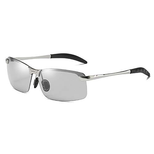 Herren und Damen Die Nachtsicht-Sonnenbrille Outdoor Radfahren Verfärbung und Sonnenbrille Tag und Nacht Angeln Radfahren Outdoor Sport Brillen Sonnenbrillen Sonnenbrillen und flacher Spiegel