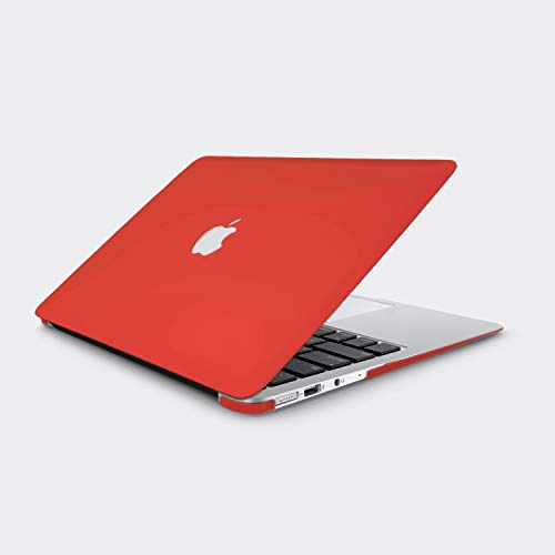 "CELLBELL Apple MacBook Air 13"" Hard Shell Skin Cover Case + Keyboard Cover + Dust plugs (Red)"