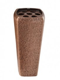 serafinum classique Bronze Vase funéraire en – Elona, marron, 18cm(Höhe)