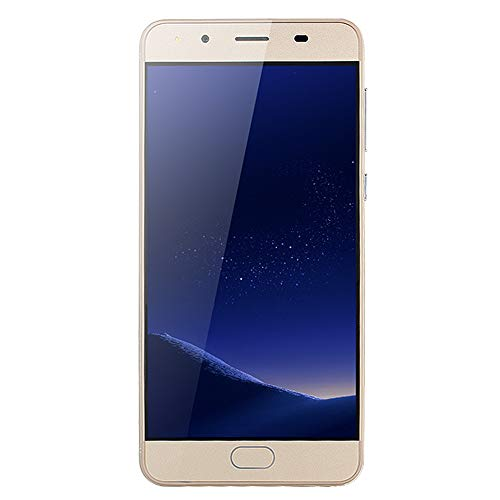 TianranRT 5.0''Ultrathin Android 5.1 Quad-Core 512 MB + 4 GB GSM 3G WLAN Dual SIM Smartphone (Gold)