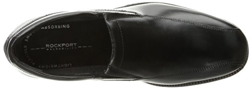 Rockport Mens City Stride Slip On Oxford- Black