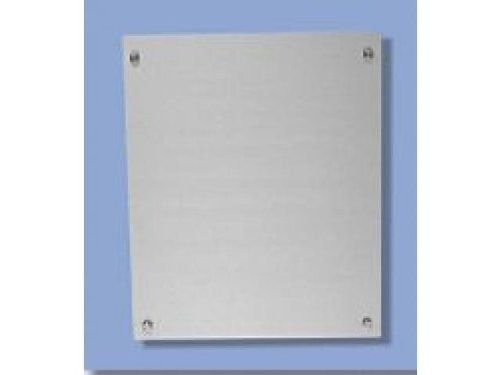 Wand-Display Plate B 30cm Schild 30x30cm Edelstahl Schildersystem Leitsystem