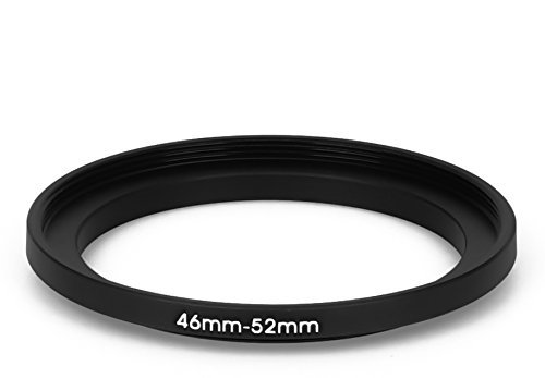 46 mm - 52 mm Filter Adapter Step-Up Adapter Filteradapter Step Up 46-52 Wireless Flash Nikon D7100