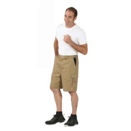 Arbeits-Shorts CANVAS 320 grün kornblau/kornblau