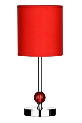 Red Bedside Lamps Amazon Co Uk