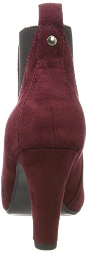 Boots Rot winered Chelsea Dress Damen Bianco HpwPn