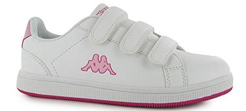 Kappa, Sneaker bambini White/Pink