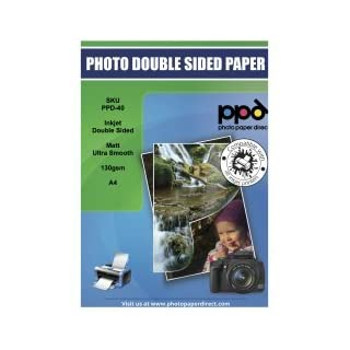 PPD Inkjet Satin Double Sided Brochure Paper A4 120gsm x 100 Sheets PPD-64-100