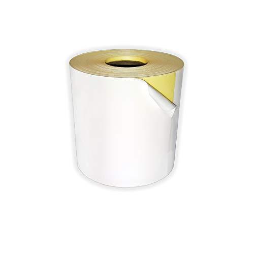 Caja 12 Rollos Papel Térmico 80x80 ADHESIVO