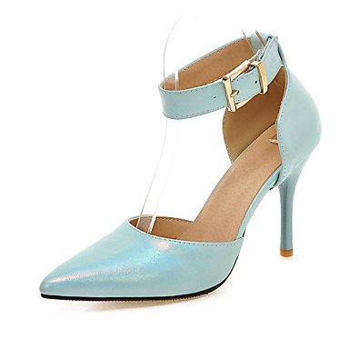 pwne Scarpe Donna Sandali Comfort Similpelle Primavera Estate Autunno Office &Amp; Carriera Abito Casual Fibbia Stiletto Heel Mandorla Arrossendo Rosa Blu Nero Blu Us5.5 / Eu36 / Uk3.5 / Cn35 US7.5 / EU38 / UK5.5 / CN38
