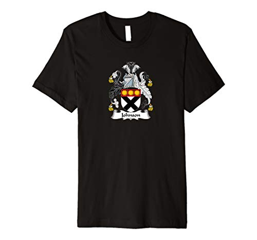 Johnson Coat of Arms - Family Crest Shirt