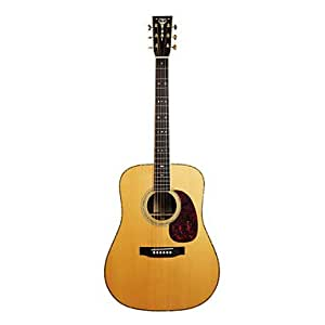 Recording King - (RD-227) 41 Solid Spruce Citka Guitare acoustique avec Dreadnought Gig Bag / Sangle / Extraits / Tuner