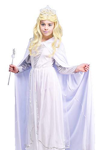 Magic Box Int. Kinder Die weiße Hexe Narnia Stil Kostüm Small (3-5yrs)