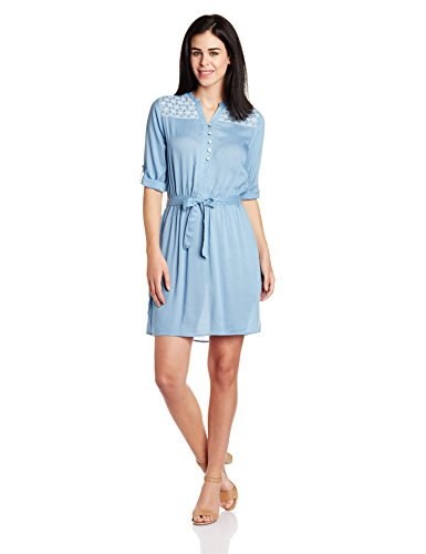 Cherokee Women's Rayon A-line Dress