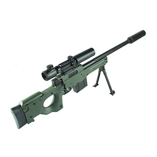 AngryMan Erwachsene Simulation AWM-Pull-Typ-Scharfschützengewehr, Live-Action-Kampfspielzeug, das Wasserpistole mit 7-8mm weichen Wasserkristallkugeln schießt