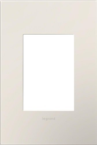 Legrand adorne 1 Gang 3 Module Wall Plate - Satin Light Almond by - Almond Plate Wall Light