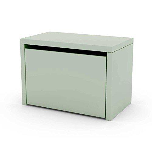 Caja de juguetes / Banco / Caja de almacenamiento JUGAR con cajón - verde...