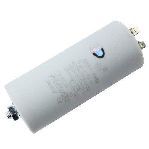 First4spares Universal Motorbetriebskondensatoren Gerätemotor Anlasser Kondensator Mikrofarad 5UF bis 80UF Flachstecker - 70 UF