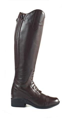 JTE - Nebraska H20, Stivali da equitazione, donna, misura 4, colore: Nero Marrone - marrone