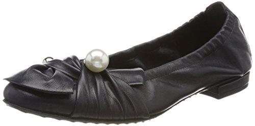 Kennel und Schmenger Schuhmanufaktur Malu, Ballerine Punta Chiusa Donna Blau (Ocean/Pearl)