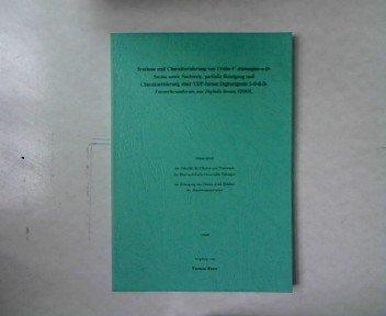 Synthese und Charakterisierung von Uridin-5'-diphospho-a-D-fucose sowie Nachweis, partielle Reinigung und Charakterisierung einer UDF-fucose:Digitoxigenin 3-O-B-D-Fucosyltransferase aus Digitalis lanata EHRH. Dissertation.