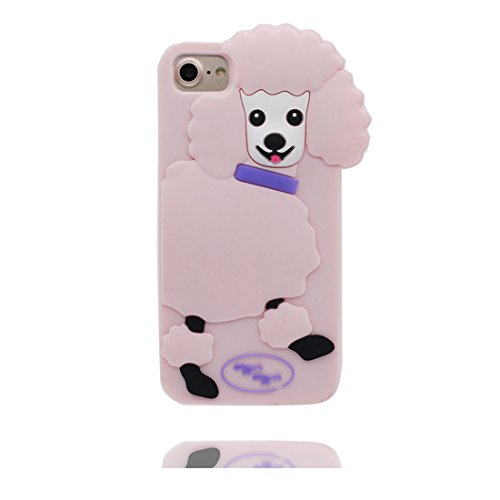 "iPhone 6 Coque, 3D Cartoon Panda Cover iPhone 6s étui (4.7 pouces) TPU souple Shell iPhone 6 Case (4.7"") poussière glissement résistant aux rayures & ring Support # 3"