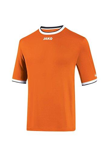 Jako–Maglia da calcio maglia ka United Neonorange/Weiß/Schwarz