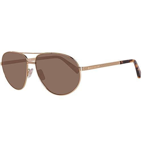 Ermenegildo Zegna Herren EZ0030 Sonnenbrille, Gold, 62