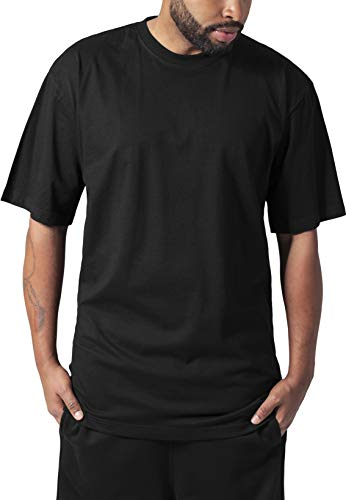 Urban Classics Tall Tee, T-Shirt Uomo, Nero, 4XL