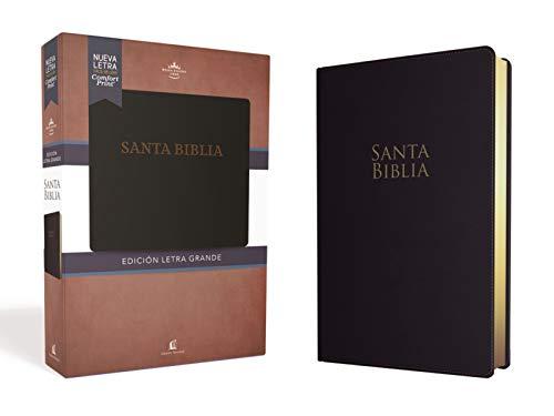 Rvr60 Santa Biblia Letra Grande, Leathersoft por Rvr 1960- Reina Valera 1960