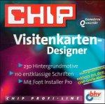 CHIP Visitenkarten- Designer. CD- ROM für Windows ab 3.x