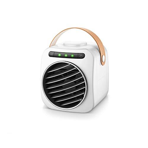 Mini-Lüfter Kleine Klimaanlage Kühlung tragbares Artefakt Desktop Mini-USB kleinen Ventilator Schlafsaal Student Bett Mikro Luftkühler Lüfter (Color : A(Ordinary)) -