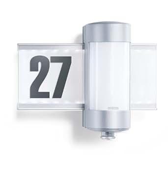 steinel sensor hausnummernleuchte l 270 s mit led. Black Bedroom Furniture Sets. Home Design Ideas