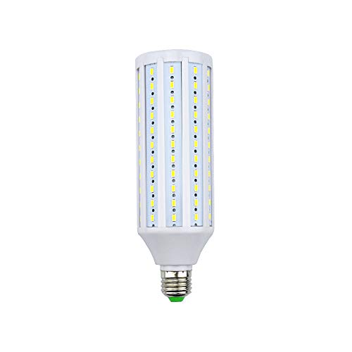 40W E27 Mais Licht LED, Bonlux Studio-Glühlampe 5500K für Fotografie Video-Foto-Beleuchtung, Straßenlaterne, innen und Außenbeleuchtung 360° Lichtwinkel Schraube LED Lampe (40w - Kalt Weiß) (Fotografie Außenbeleuchtung)
