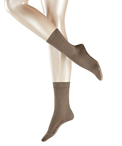 FALKE Damen Socken Family Braun (pebble 5810)