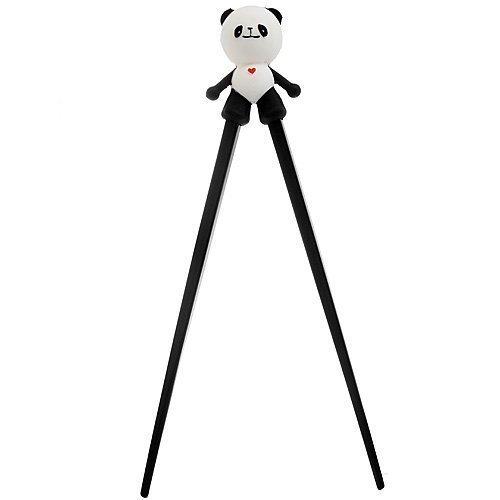 Uso 1de Great para los niños a aprender de los palillos o para adultos, los palillos son impared. 2This formación palillos dispone de una en toda su longitud en forma de varillas de plástico con un panda desmontable conector Articulación facilita e...