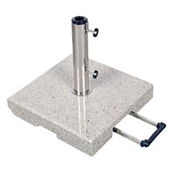 30 kg doppler granit schirmst nder mit rollen und trolleyfunktion. Black Bedroom Furniture Sets. Home Design Ideas